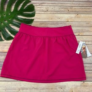 Carve Designs women's bright pink UPF 50 skirt